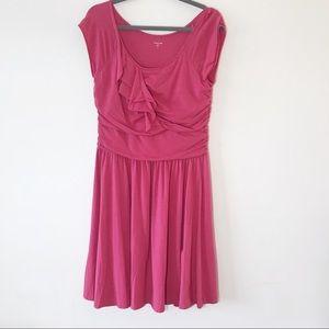 Garnet Hill Hot Pink Summer Travel Dress Size M